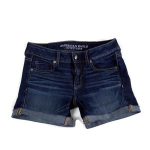 American Eagle Outfitters Jean Shorts Midi size 2